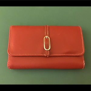 Red Women's Wallet 4/$25